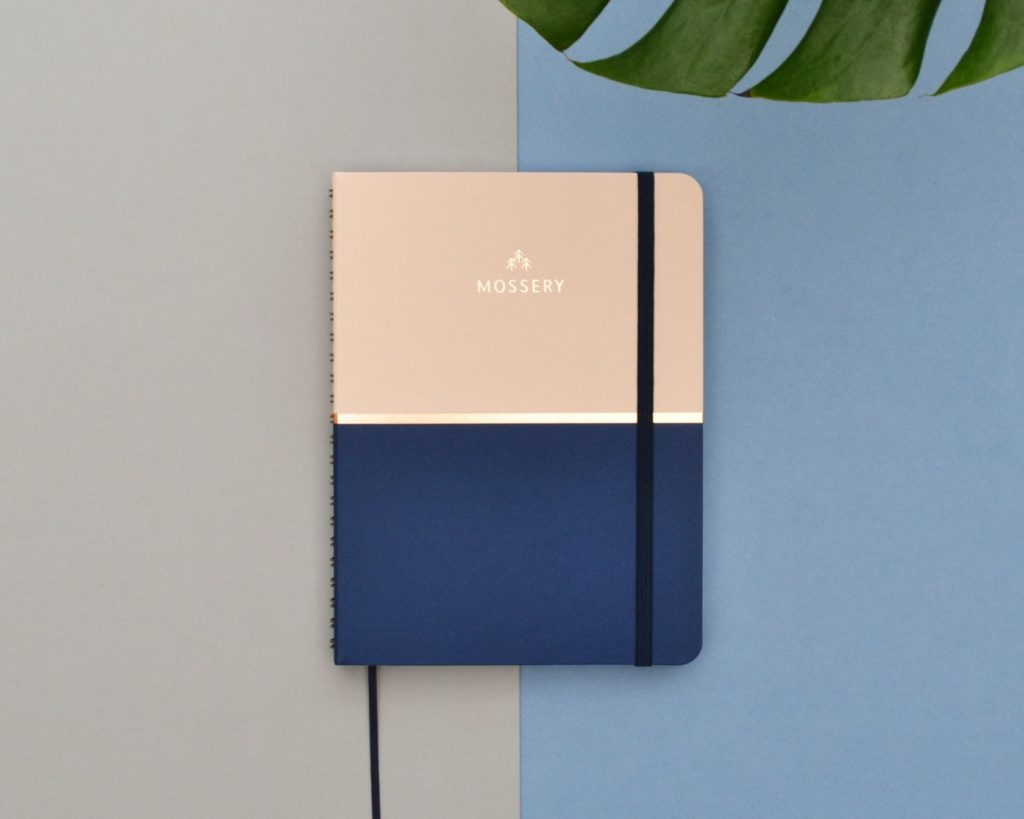 Biscuit Blue Academic Planner (Aug 2017–Jul 2018) | Mossery Mossery