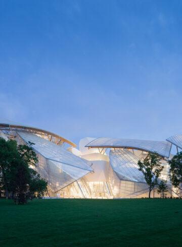Fachada Norte / Foto: Iwan Baan, Fondation Louis Vuitton