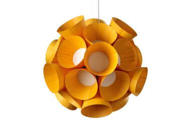 Dandelion, candeeiro de teto, LED, várias cores, pelo estúdio espanhol LFZ,  sob consulta, vencedor do prestigiado German Design Award 2017