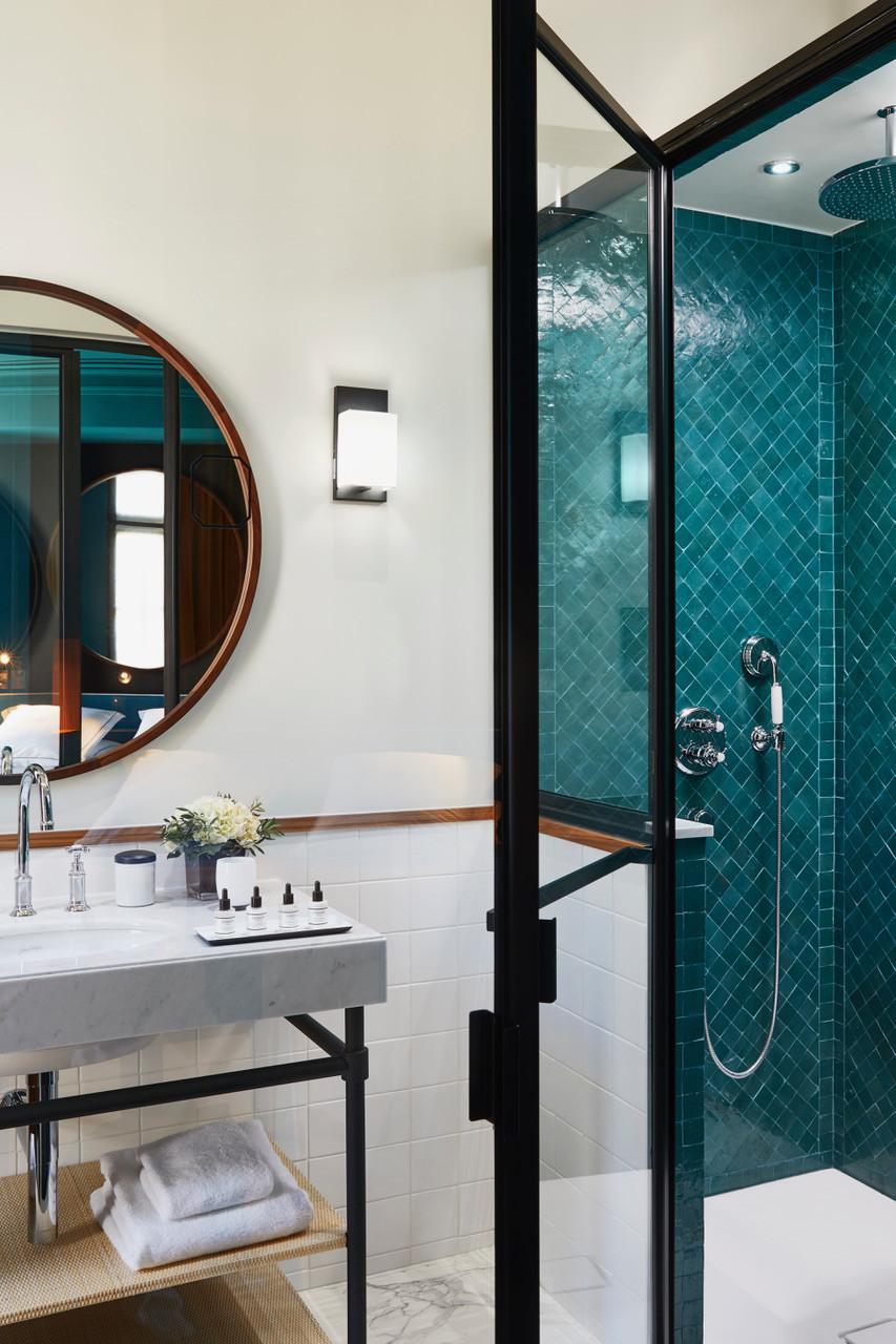 Casa de banho, quarto Deluxe