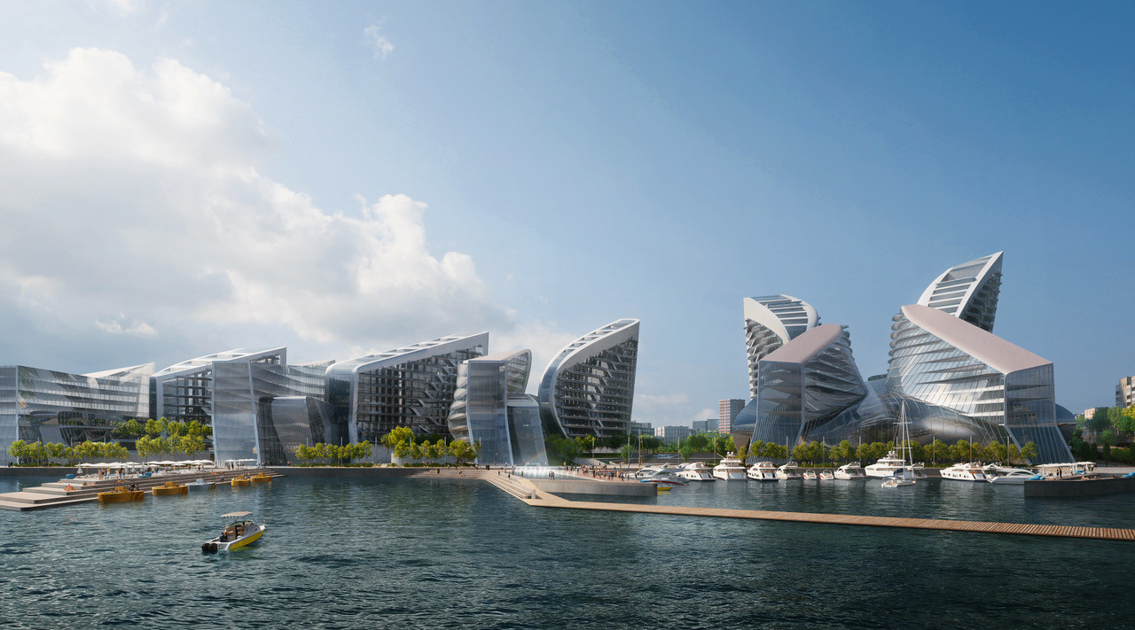 04_ZHA_Admiral Serebryakov Embankment_Render by VA