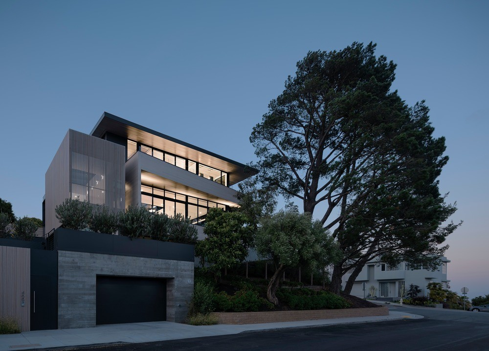 John Maniscalco Architecture -- Dolores Heights Family Home. Photo credit: Photo credit: Joe Fletcher Photography.