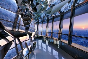 Tokyo Tower Top Deck, por Kaz Shirane Studio Interior Design of the Year Foto: Nacása & Partners