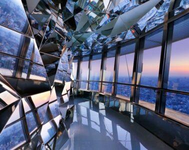 Tokyo Tower Top Deck, por Kaz Shirane Studio Interior Design of the Year Foto: Nacása & Partners