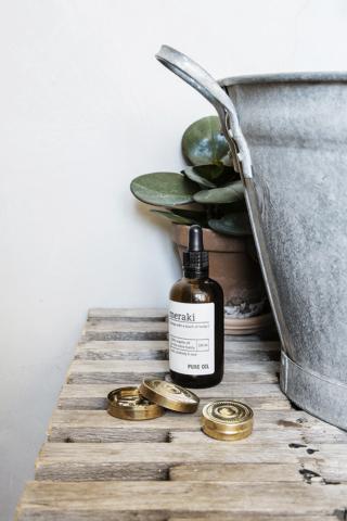 Da Meraki, óleo de corpo 100% orgânico, para toda a família, com laranja e um toque de ervas, em housedoctor.com