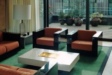 Bella Freud Apartment -Living Room-Retrouvius-Televison-centre-006-Web (13)-© Michael Sinclair