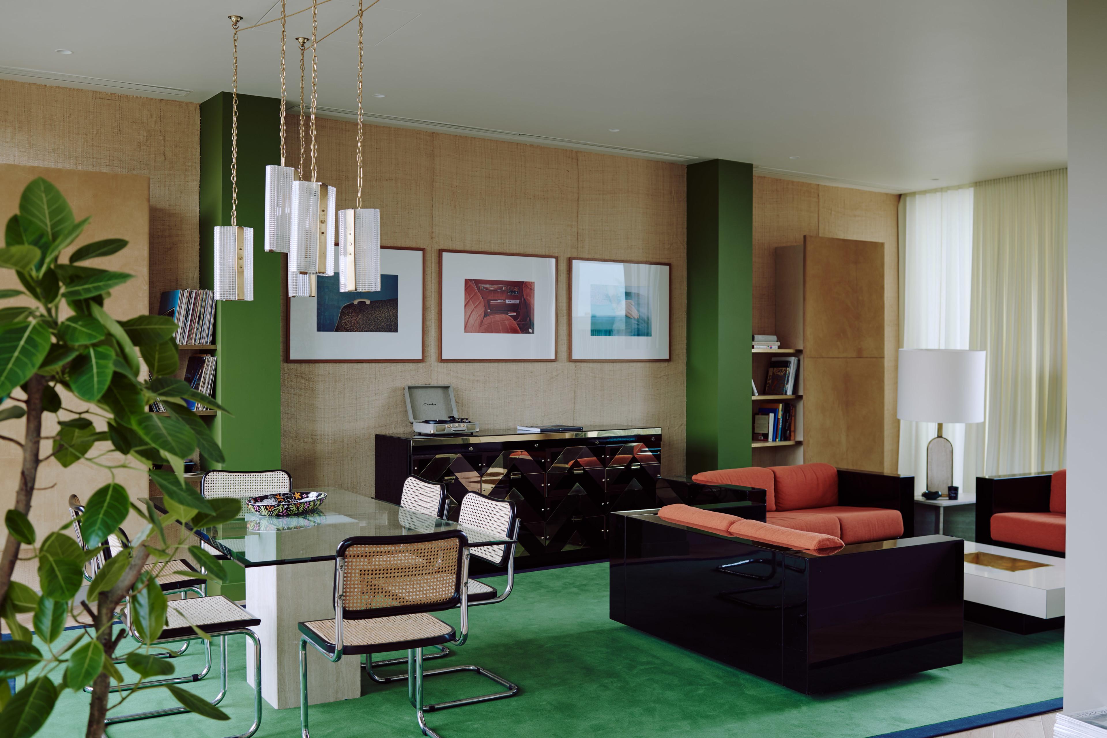 Bella Freud Apartment -Living Room-Retrouvius-Televison-centre-006-Web (5)-© Michael Sinclair