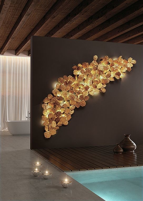 Serip Collection Pathleaf Wall Lamp