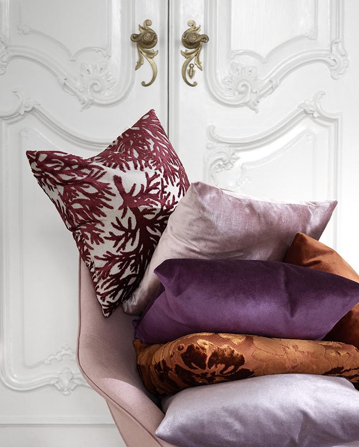12. BO Velvet textures cushions