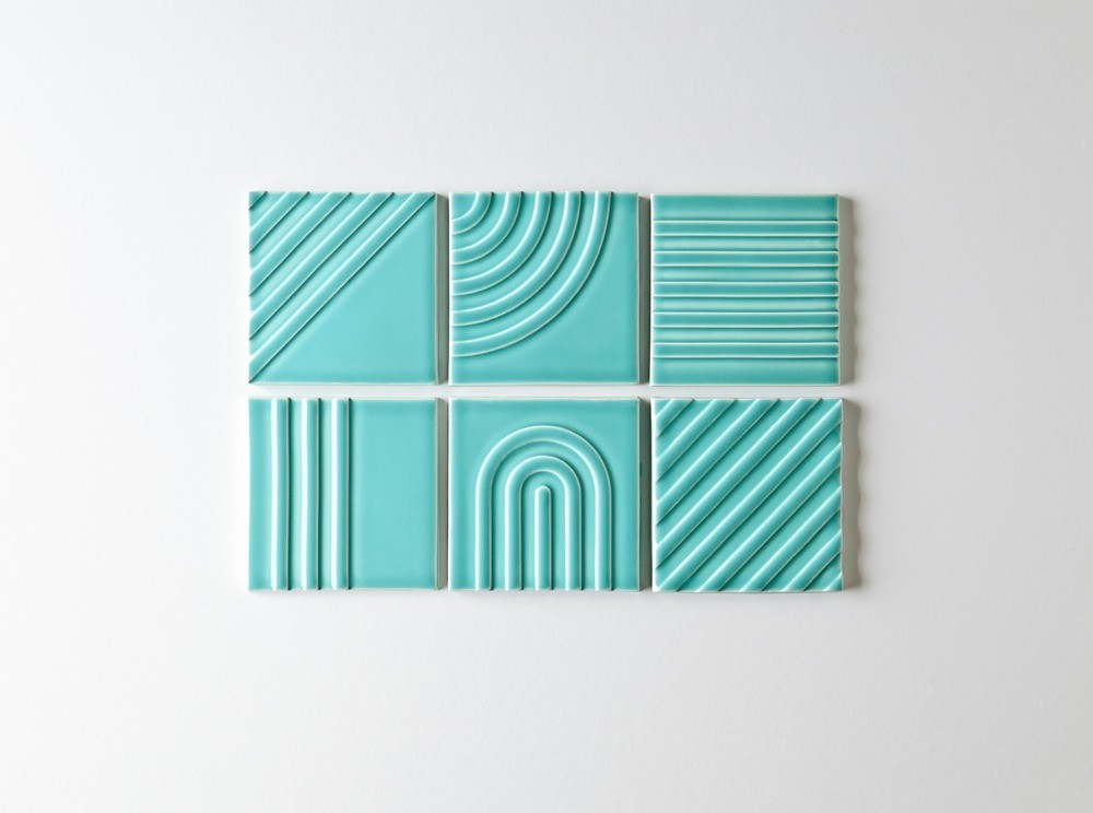 Signal Tile Collection por Kristine Morich x Clayhaus Modern Tile Foto: Ian Stout