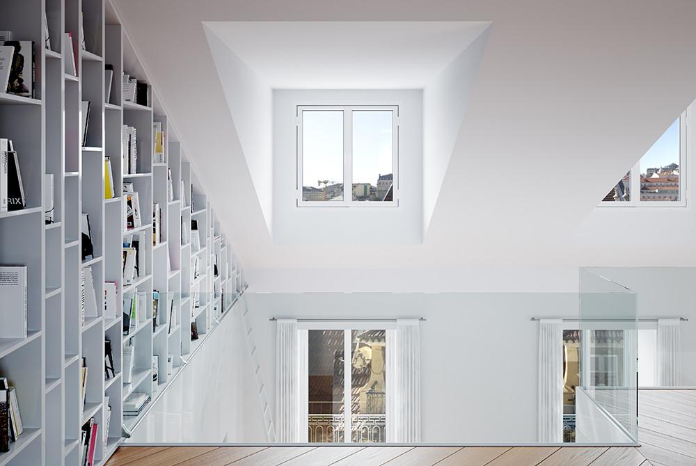 Duplex, pormenor e vistas